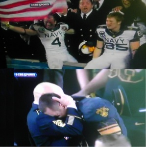 Navy Makes Army Cry 17 to 13 ( We're such bullys...lol )