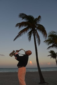 Sax on the Beach!