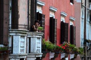 Lady in Window